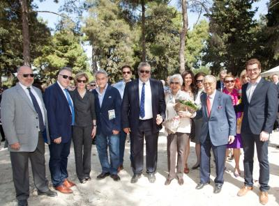 Cornerstone Laying Ceremony for New Perrotis College Building